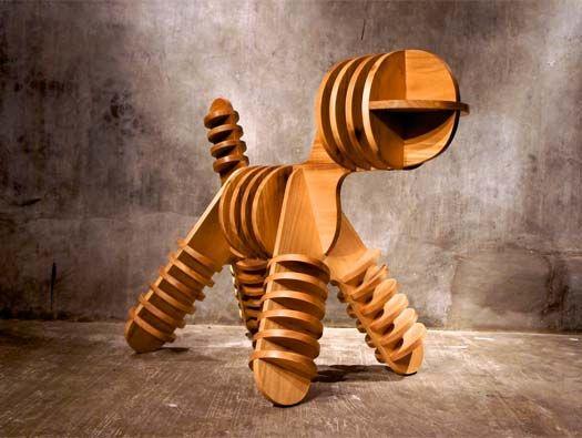 Stray Puppy Chair by Jagnus Design Studio