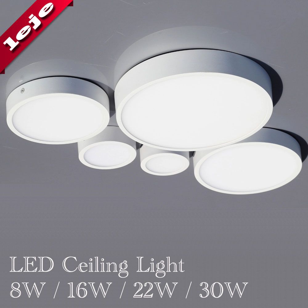 Plafondlamp Vierkante Ronde 8 W 16 W 22 W 30 W Plafondlamp