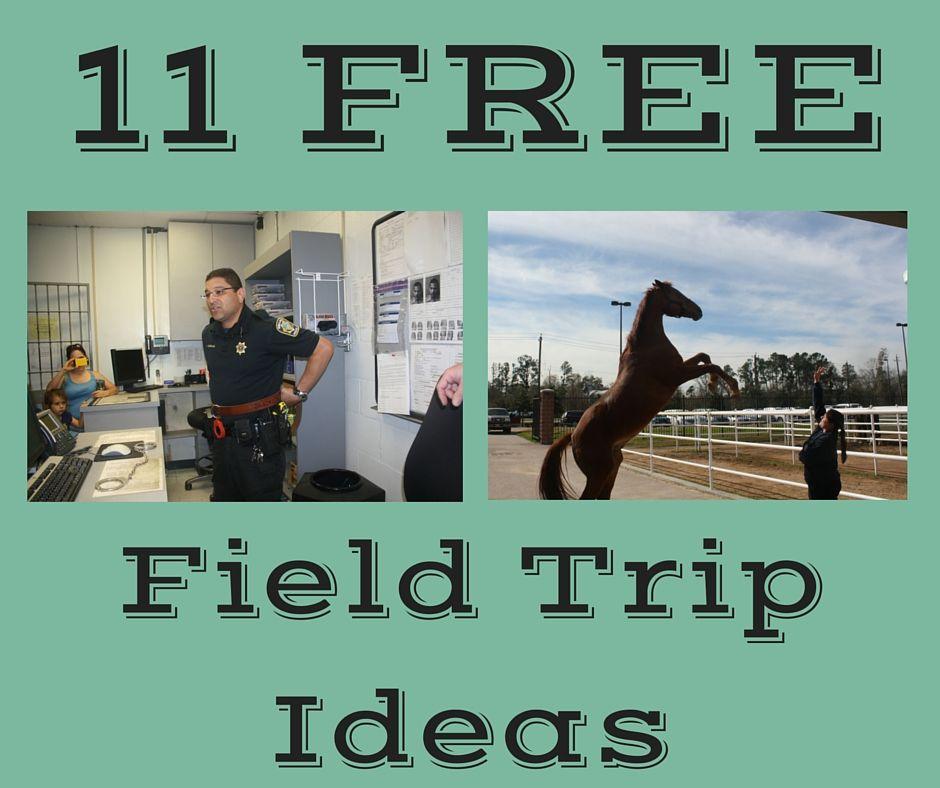 11 FREE Field Trip Ideas Preschool field trip, Field trip