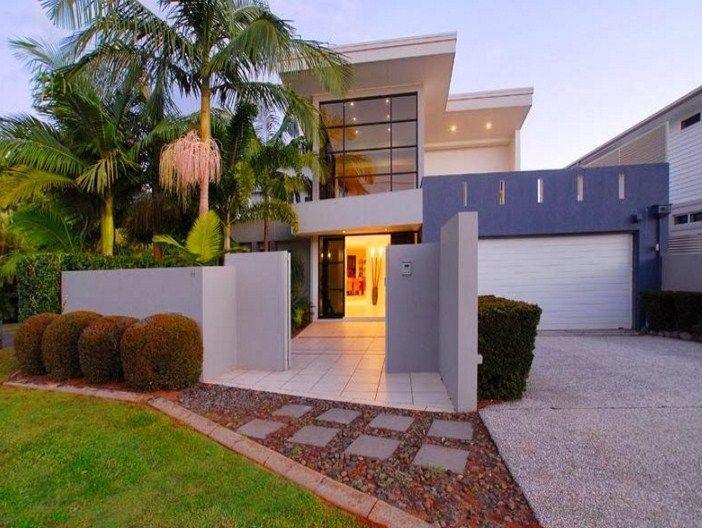 Casas modernas con ventanas grandes casa pinterest for Casas minimalistas grandes