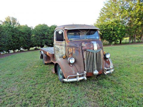Vintage Trucks For Sale >> Custom 1941 Ford Cabover Vintage Truck For Sale Ford