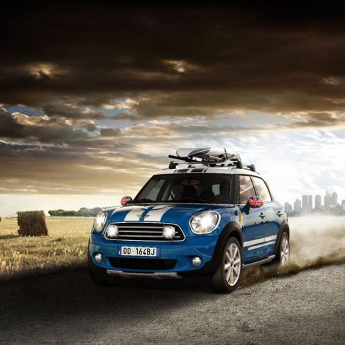 Combine The Classic MINI Driving Lights With...