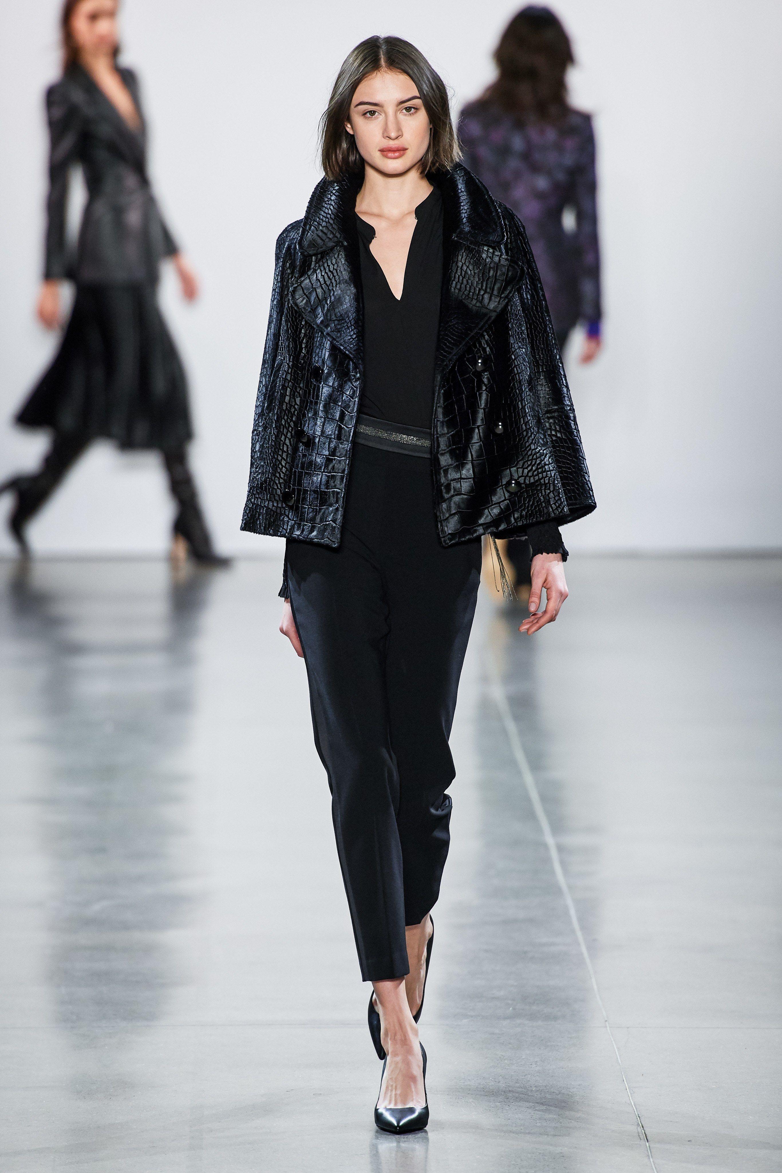 3bcafe7fdf0a8 Elie Tahari Fall 2019 Ready-to-Wear Fashion Show in 2019