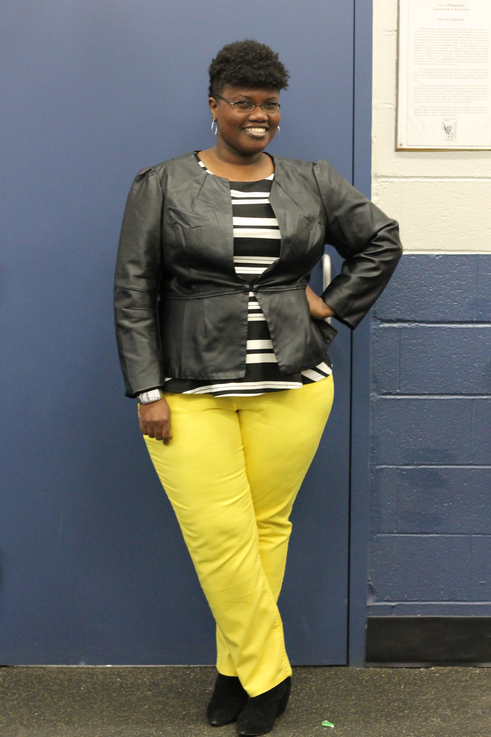 Plus Size Yellow Jeans Ye Jean