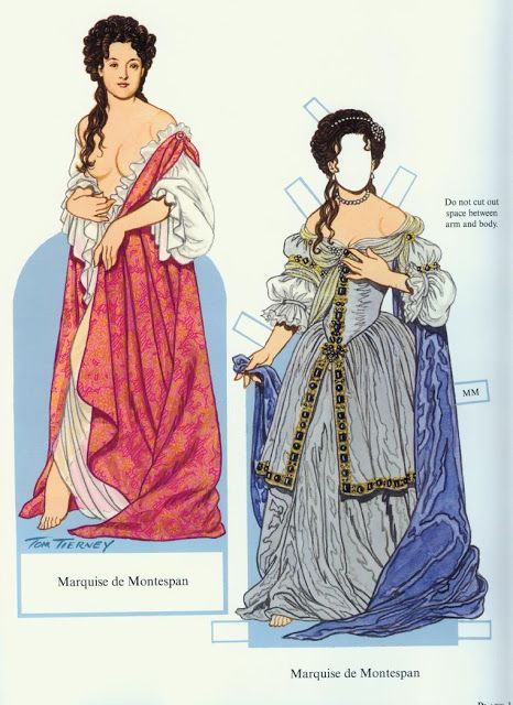 Louis XIV and His Court Paper Dolls