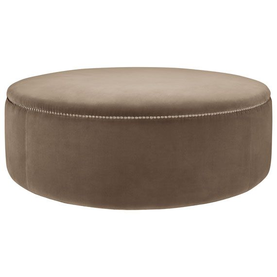 Stupendous Costellini Velvet Ottoman Large Decor Galore Gmtry Best Dining Table And Chair Ideas Images Gmtryco