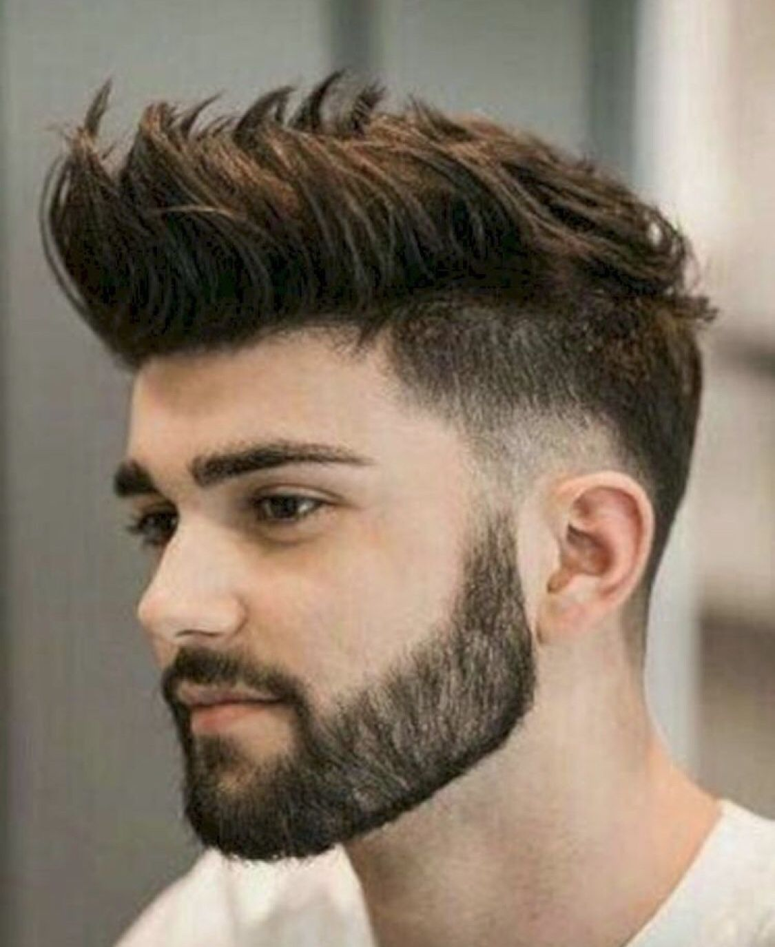 pinterest:chaobella💋 #men's hairstyles #mensgrooming