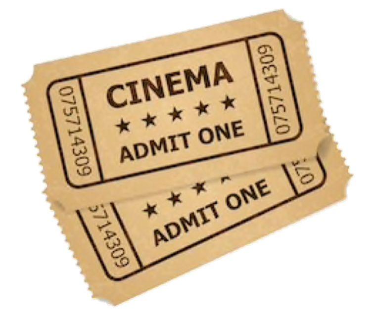Cinema Tickets Cinema Ticket Cinema Retro