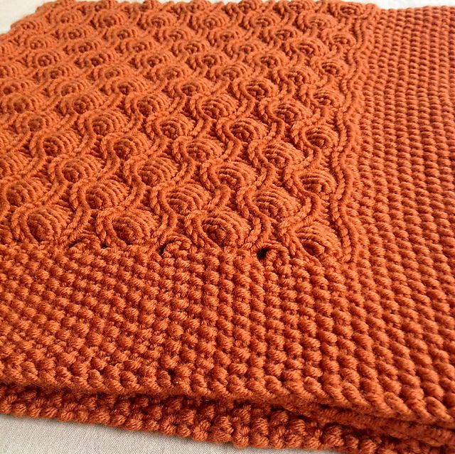 Ravelry: Bubble Baby Blanket by Pamela Späth | плед | Pinterest ...