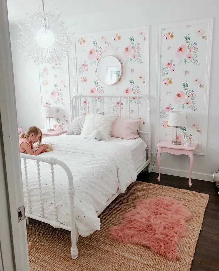 26+ Little Girl Decor and Bedroom Ideas Reveal #bedroomdecor ...