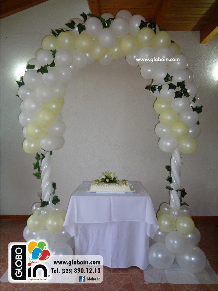 Arco de globos para Boda Decoracion Globos bodas Pinterest