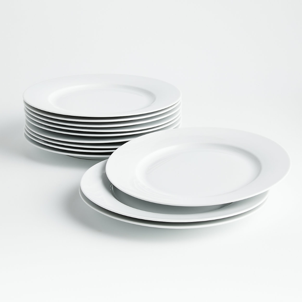 Party Of 12 Dinner Plates Reviews Crate And Barrel Plates Dinner Plates Crate And Barrel