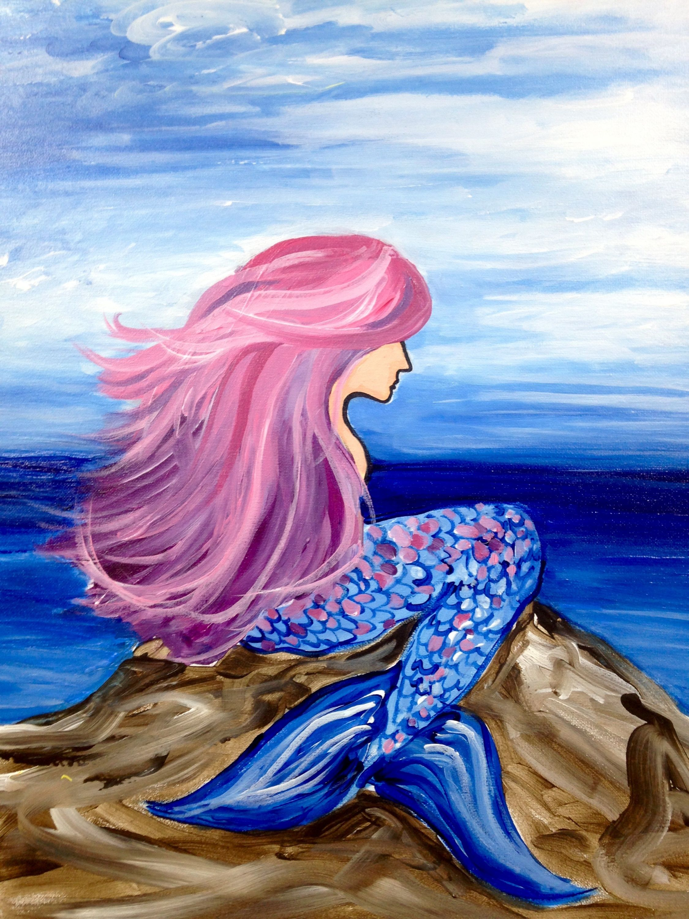 Not all mermaids have bright red hair, beautiful singing ...