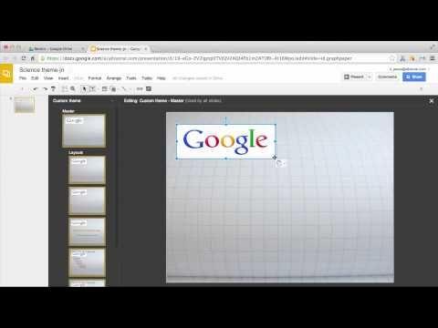 MasterSlides in Google Slides - YouTube Student Presentation Tools