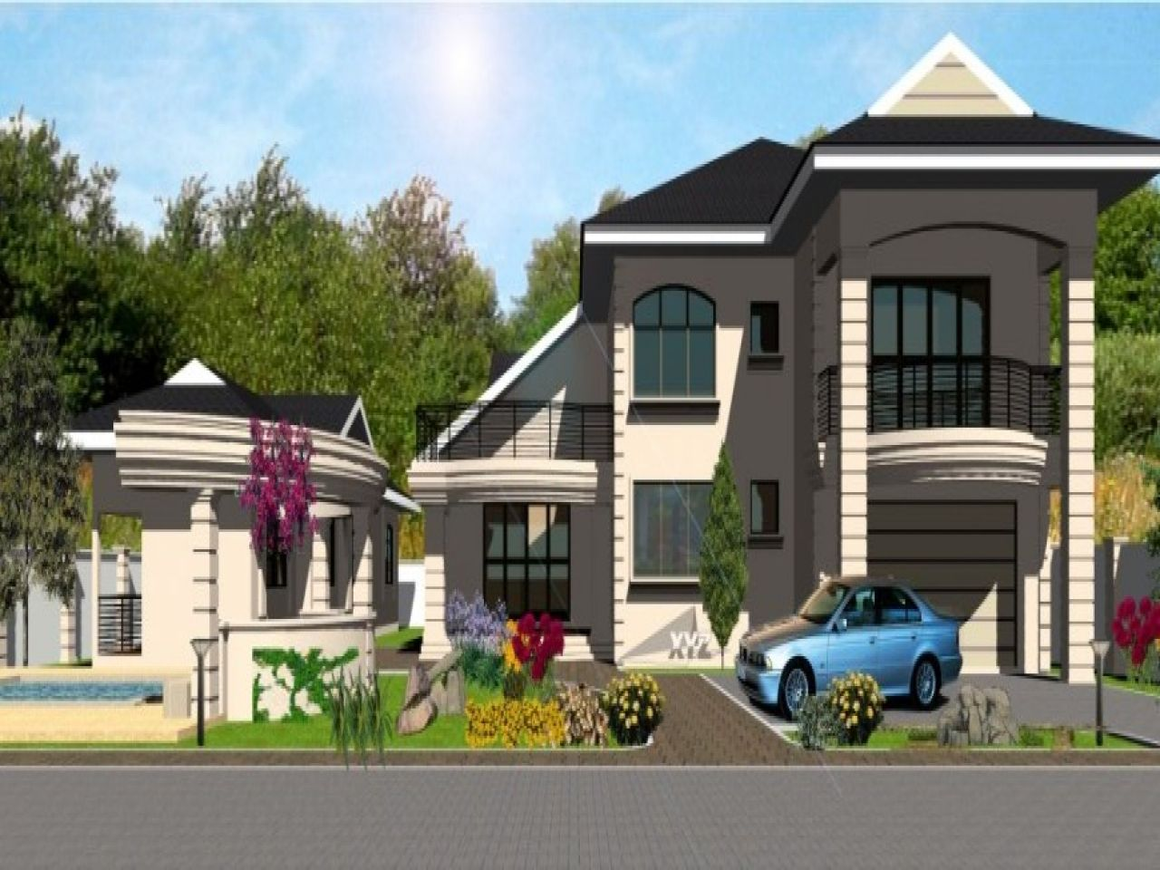 Pin by Blossom Ibekwe on Mi Casa 5 bedroom house plans