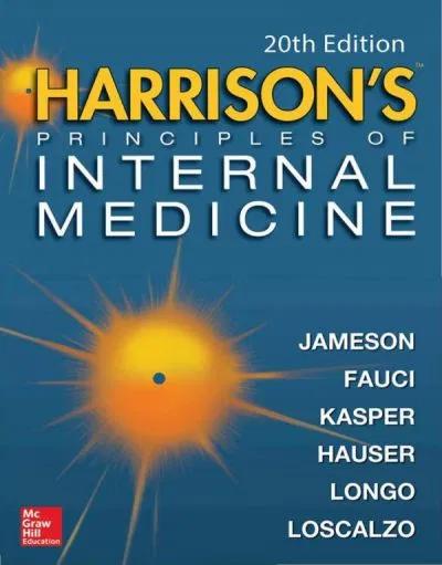 Harrison S Principles Of Internal Medicine Twentieth Edition Vol 1 Vol 2 Dennis L Kasper Anthony S Fauci Stephen L Hauser Dan L Longo J Larry Jame Internal Medicine Harrison Medicine Medicine Book