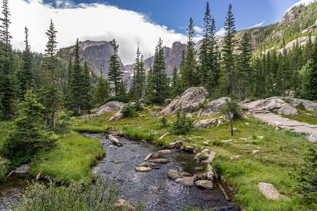 Sprague Lake, CO National parks, Rocky mountain national