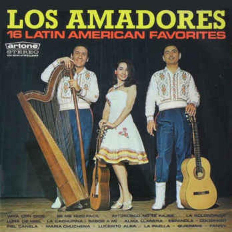 Los amadores 16 latin american favorites collection de