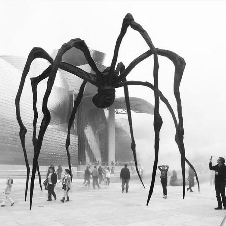 Maman, Sculpture by Louise Bourgeois in France. | tattoo ideas ...