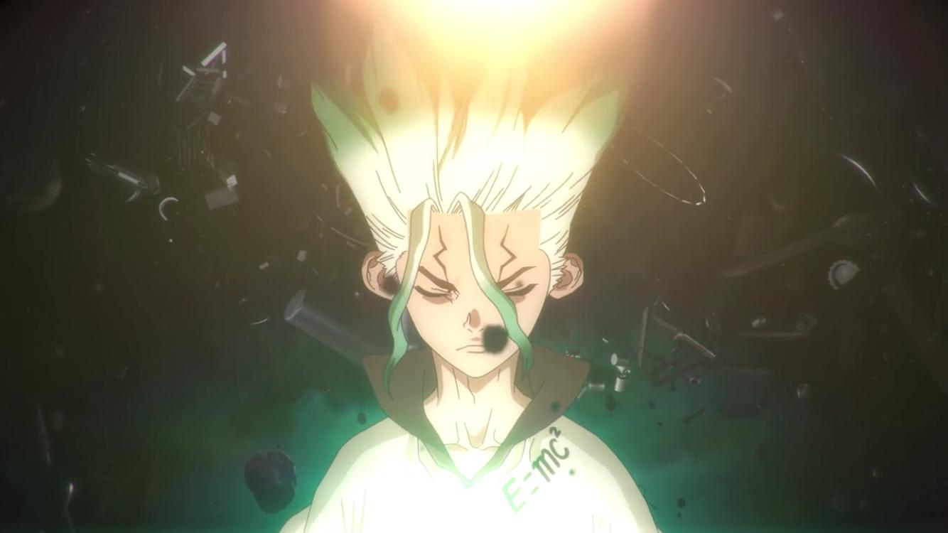 Dr.stone Anime, Stone, Stone world