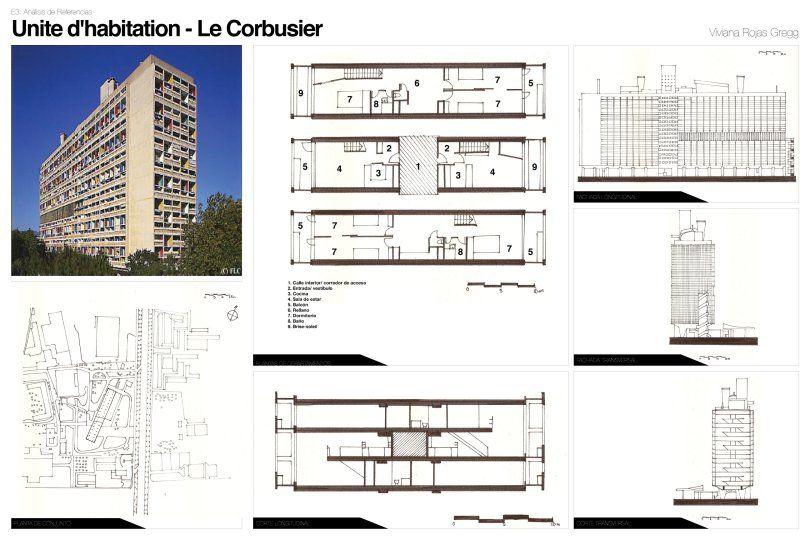 Unit d habitation marseille art 101 modern for Plan habitation