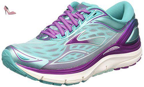 Brooks Transcend 3, Chaussures de Running Compétition femme, Multicolore  (Aruba Blue/Byzantium