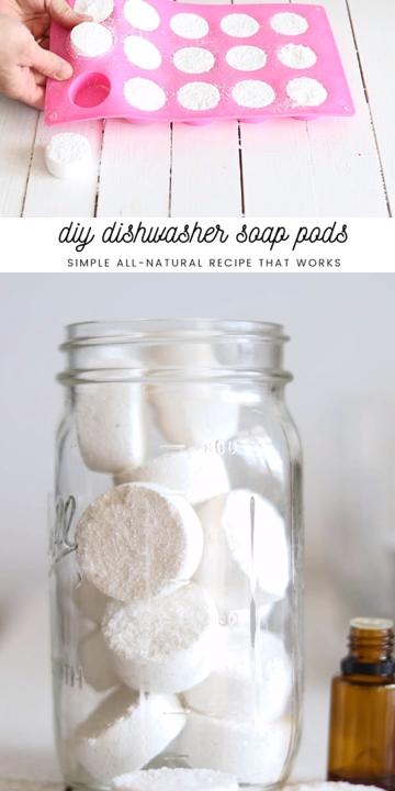 DIY Dishwasher Soap Pods -   17 diy projects To Make Money baking soda ideas