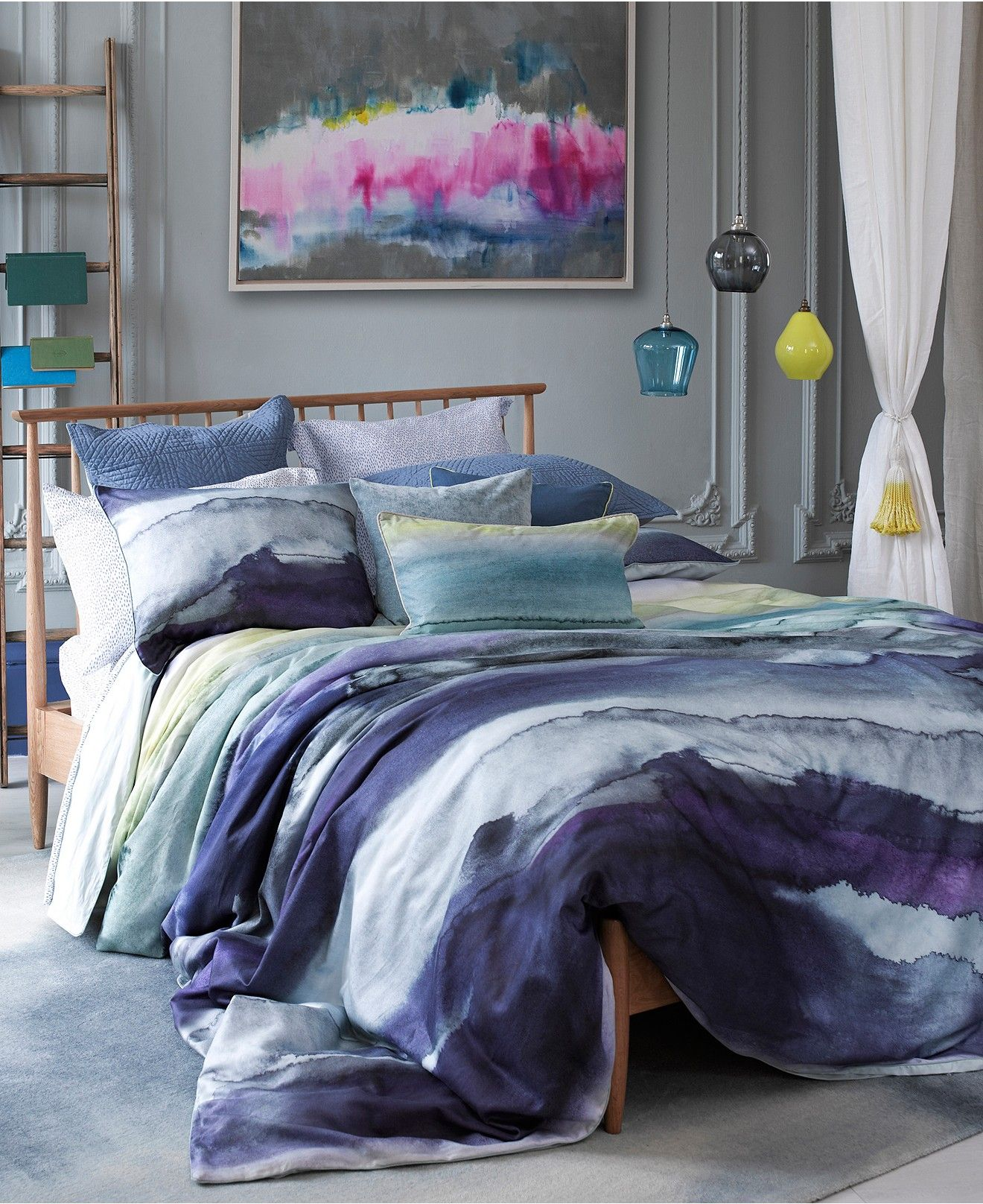Duvet Covers And Comforters Closeout Bluebellgray Morar Comforter And Duvet Sets Bedding