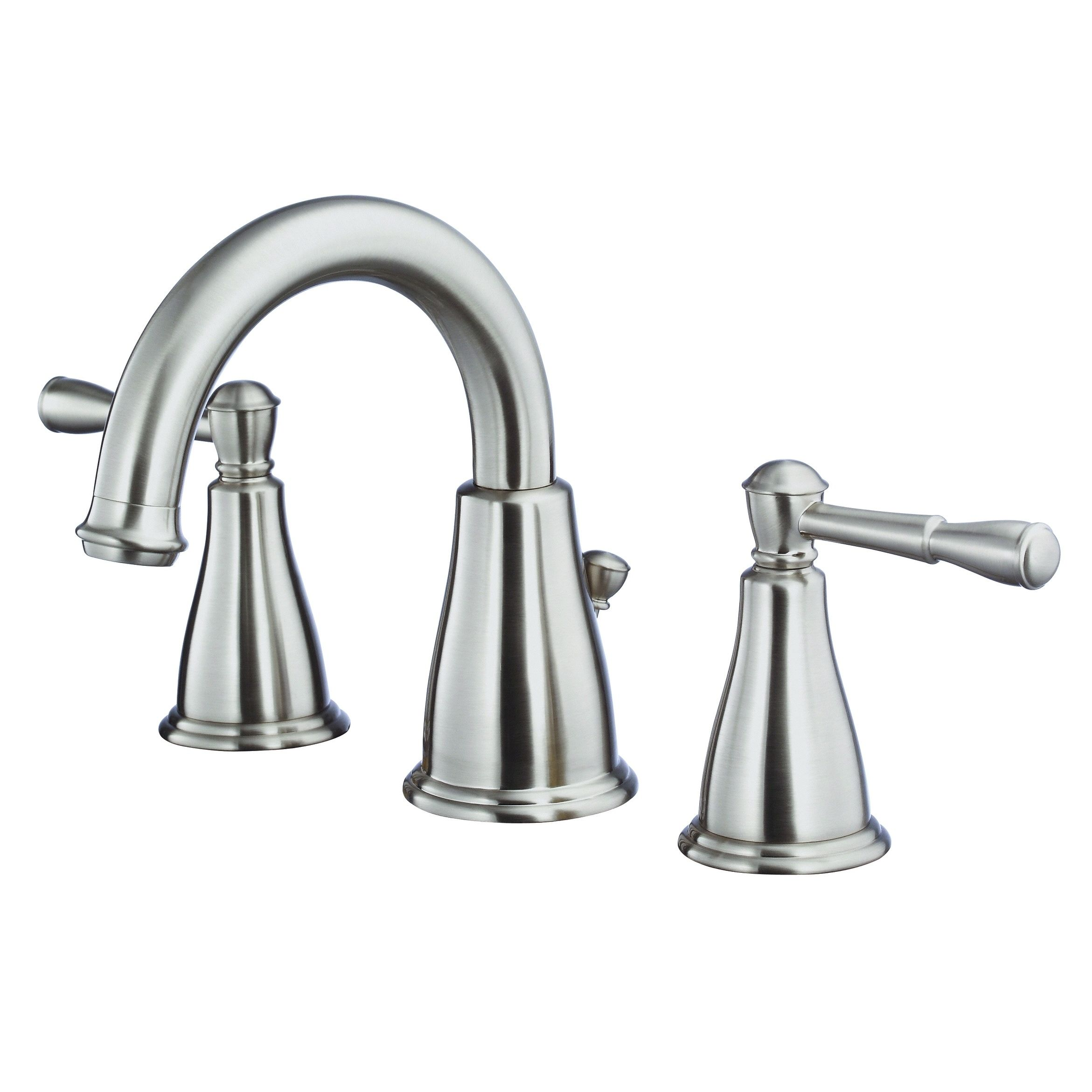 Eastham 2h Widespread Lavatory Faucet W 50 50 Pop Up Drain 1 2gpm