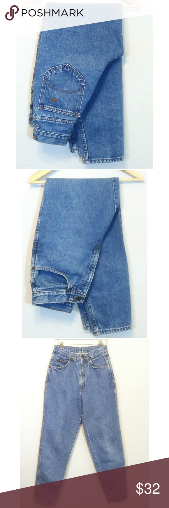 Vintage Chic High Waist Mom Jeans See Meas Vintage Chic Chic Jeans Clothes Design