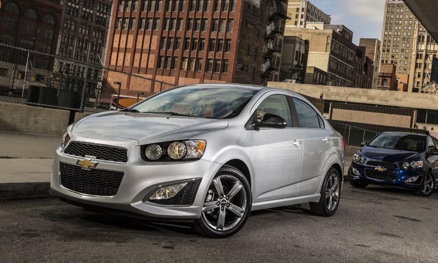 Rs And Dusk Sedan Join Chevy S Sonic Lineup Chevrolet Sonic