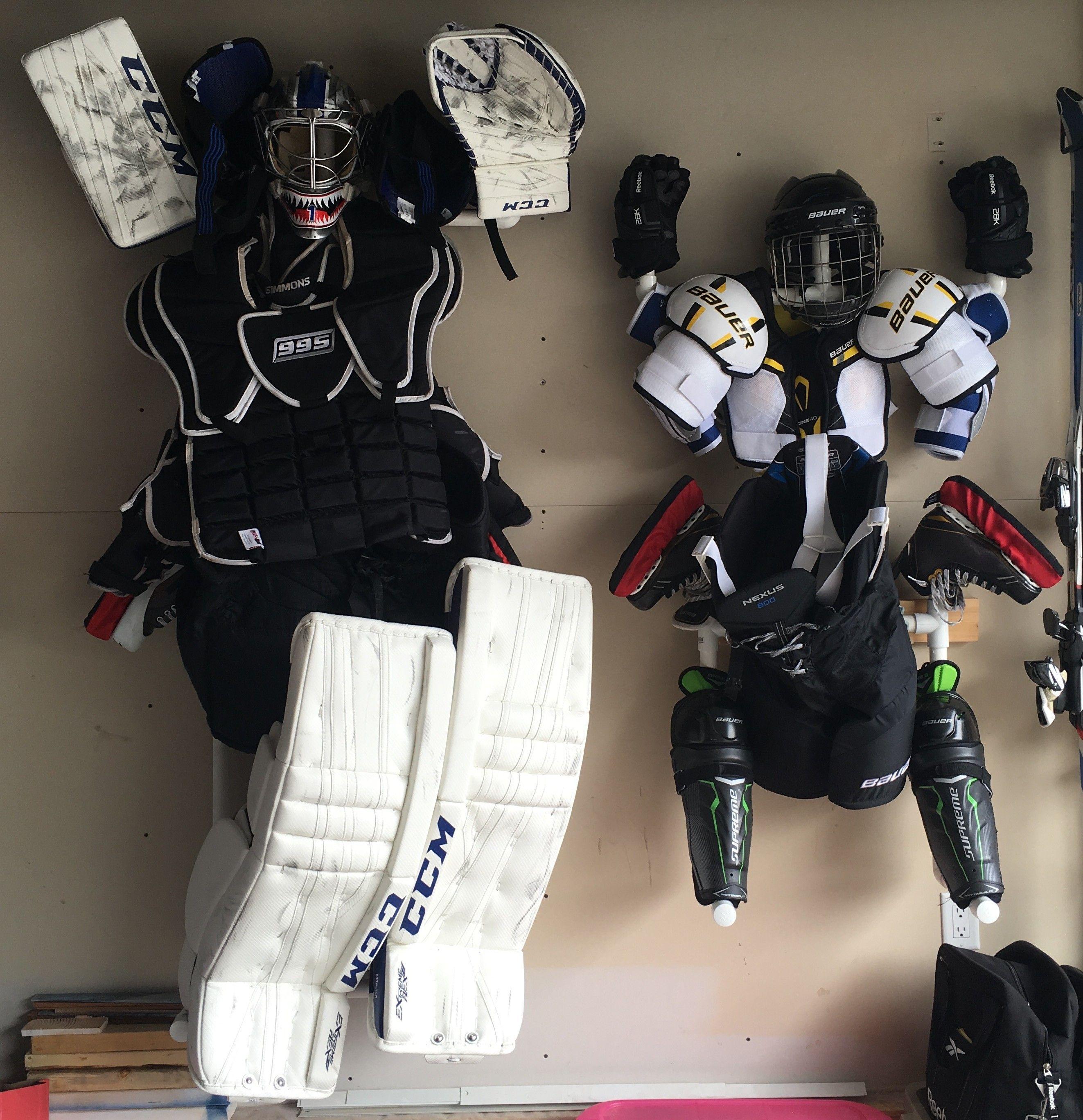 Hockey Gear Drying Stand Hockey Gear Hockey Gear Drying Rack Hockey Diy