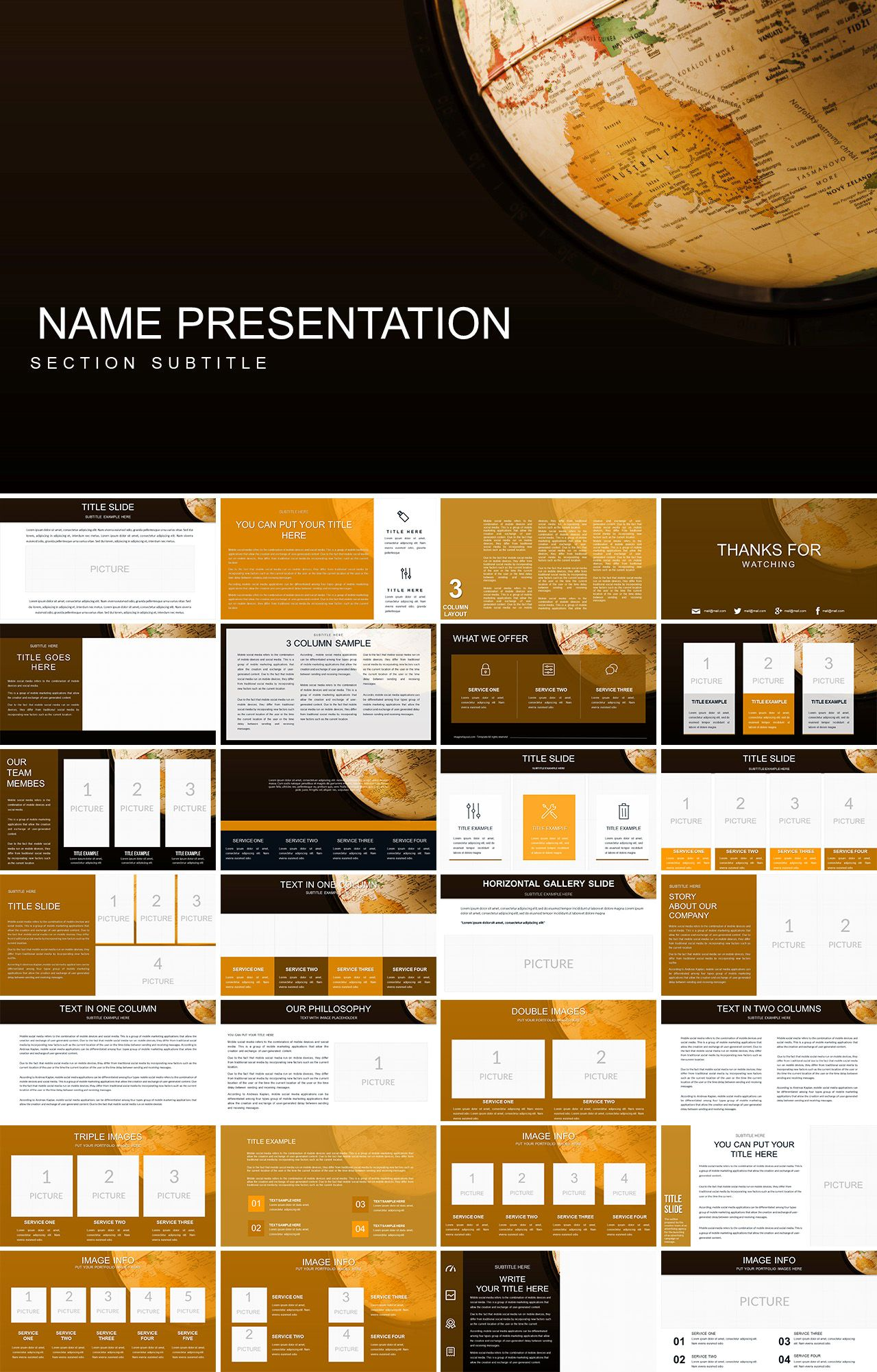 Geography Powerpoint Template Background For Powerpoint Presentation Powerpoint Templates Powerpoint Presentation Design