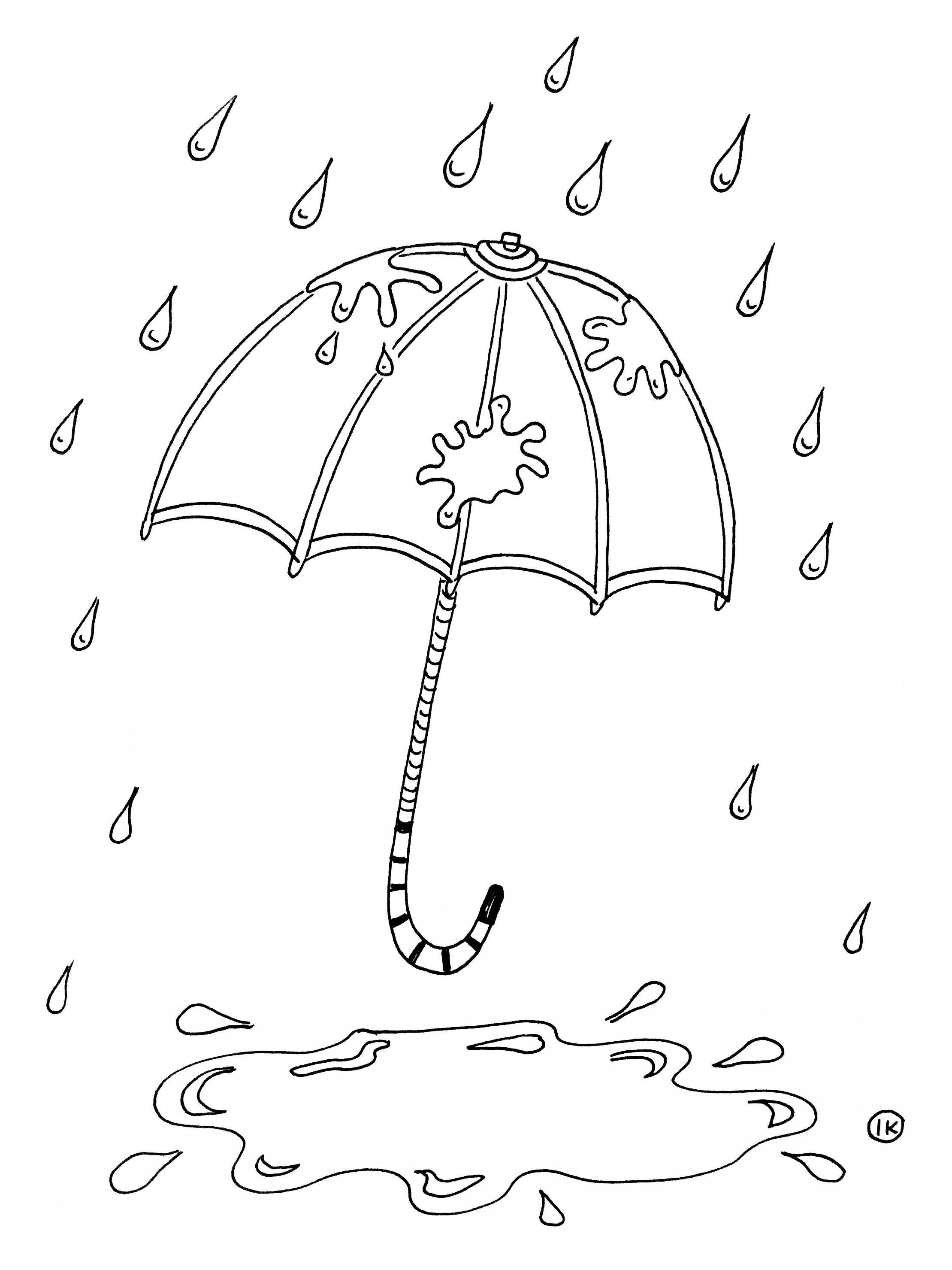 Kleurplaten Met Thema Regen Kleurplaat Regen Kleurplaat Eendje In De Regen 1028 Regen Regen Knutselen Thema