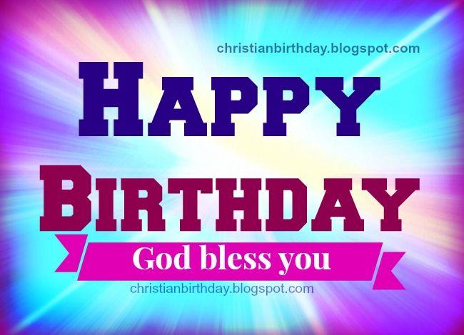 Happy Birthday Religious Happy Birthday God Has Blessed You Free