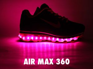 becfb0c39e11 Nike Air Max shoes that light up when you walk!!!! WHAT I WANT THESE. I  have been looking for light up shoes for adults. Why should kids have all  the fun.