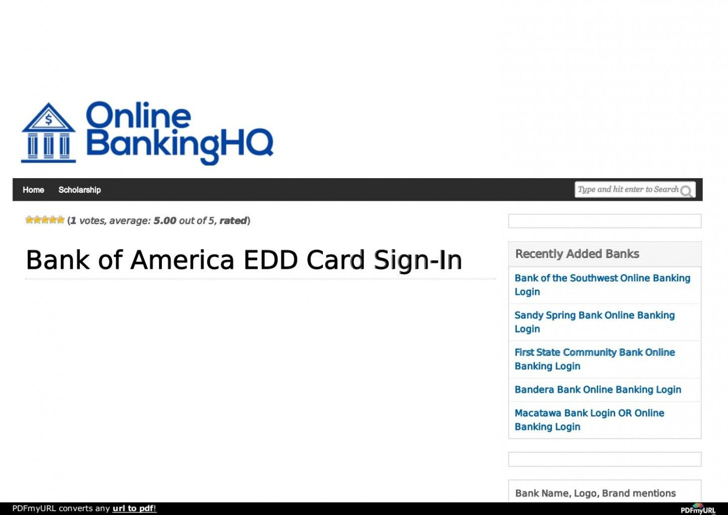Bank of america edd 5 thoughts you have as bank of america