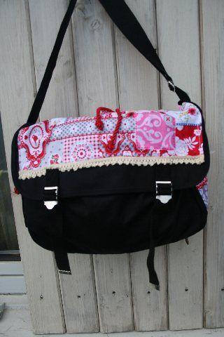 Sale ......Canvas Tasche schwarz von Carpe diem create auf DaWanda.com