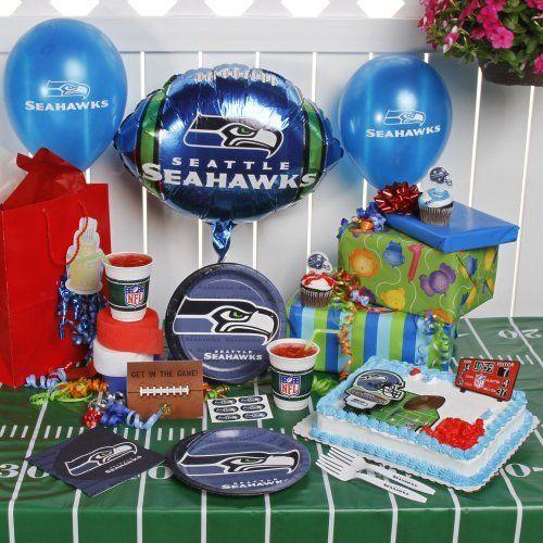 Nfl Seattle Seahawks Birthday Party Kit 96 Piece By Tnt