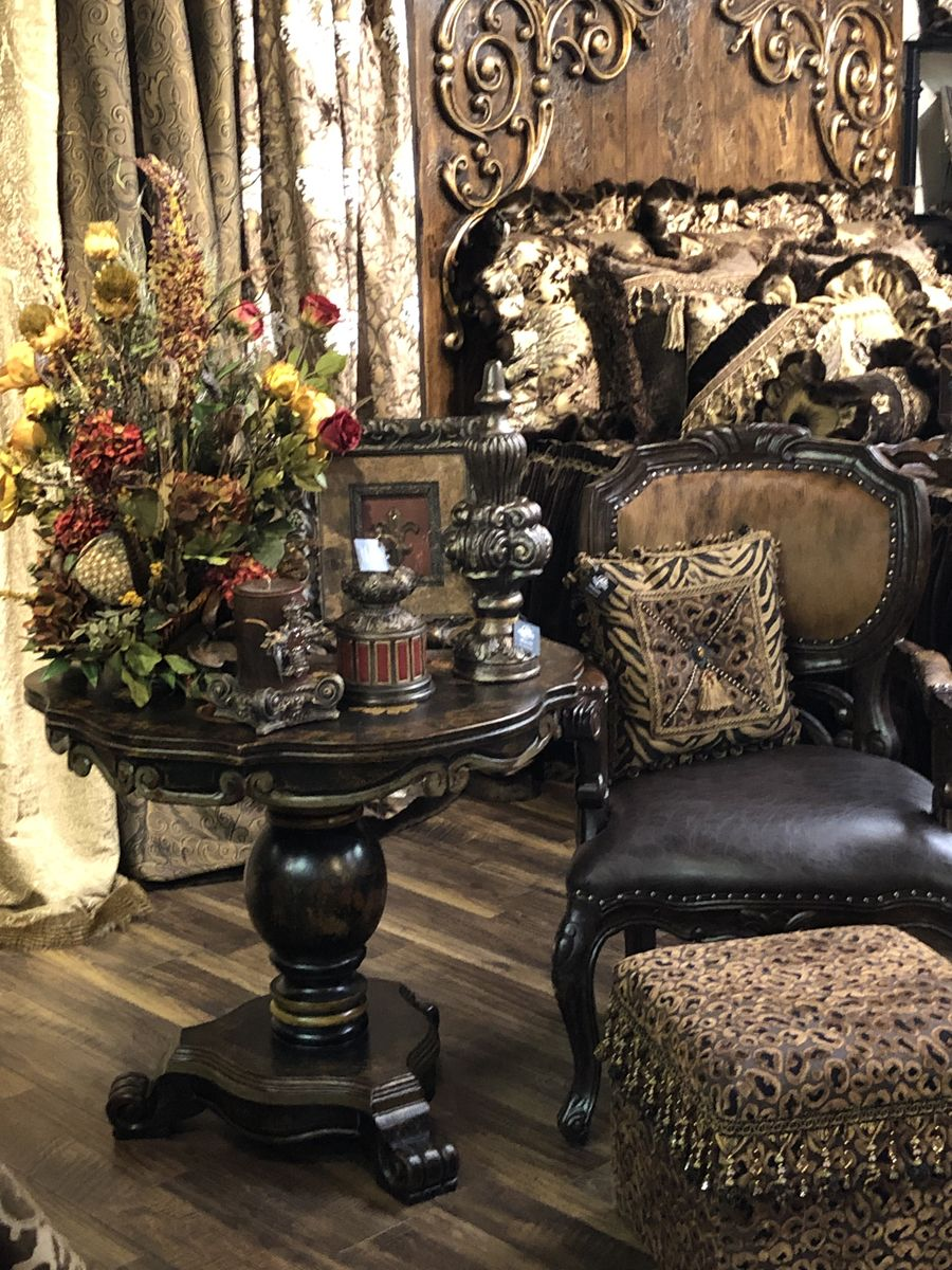 Old World Home Decor Furnishings By Reilly Chance Collection