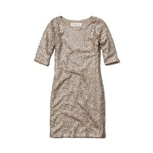 Abercrombie & Fitch Rylie Sparkling Bodycon Dress