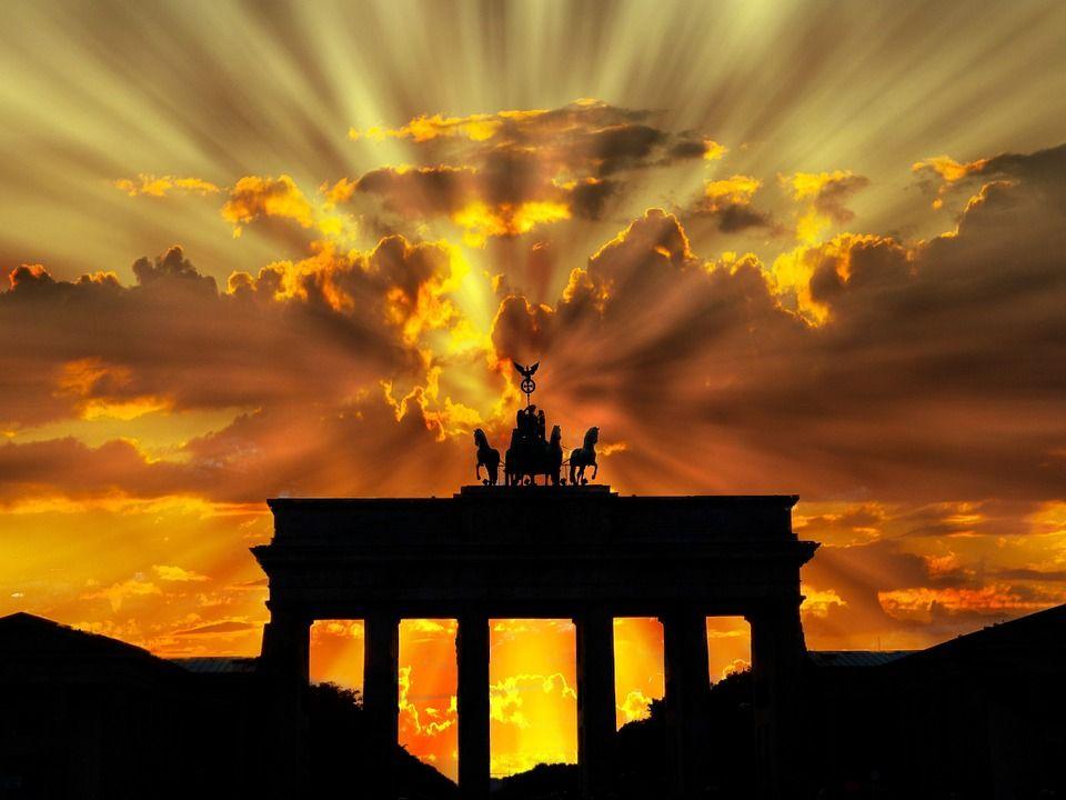 Image Gratuite Sur Pixabay Brandenburger Tor Crepuscule Germany Berlin Trip
