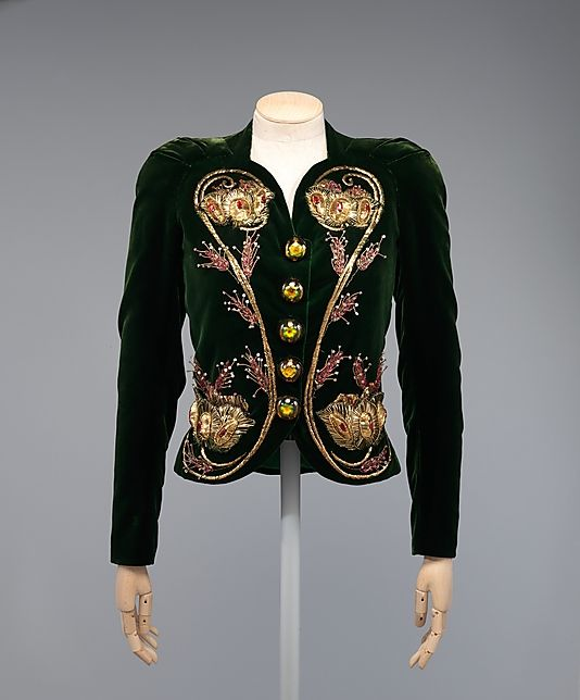 Elsa Schiaparelli evening ensemble circa from 1937-1938 for ...