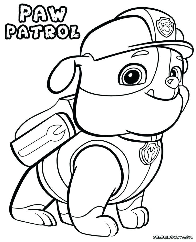 Coloring Pages Paw Patrol Best Of Free Printable Paw Patrol Coloring Pages Oneupcolor Paw Patrol Coloring Paw Patrol Coloring Pages Coloring Books
