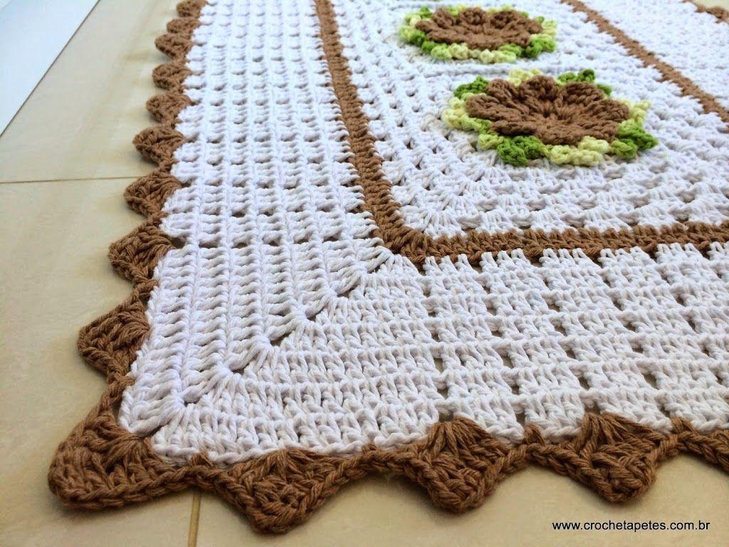 1000 ideias sobre Croche Barbante Cozinha no Pinterest Croche  #3C2410 1024 768