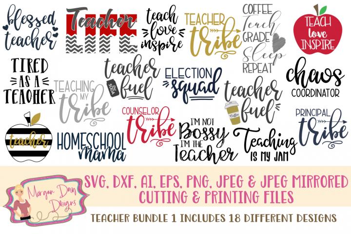 Download Teacher Svg Bundle In Svg/Dxf/Png/Jpeg/Eps DXF