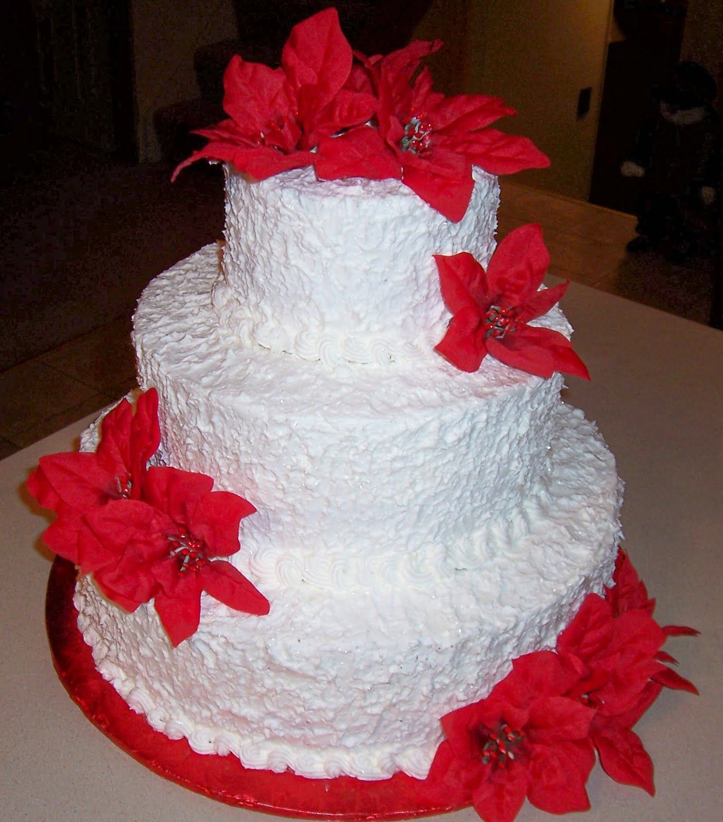 My Wedding Dreams & Ideas: Christmas Wedding Cakes!!! | Wedding ...