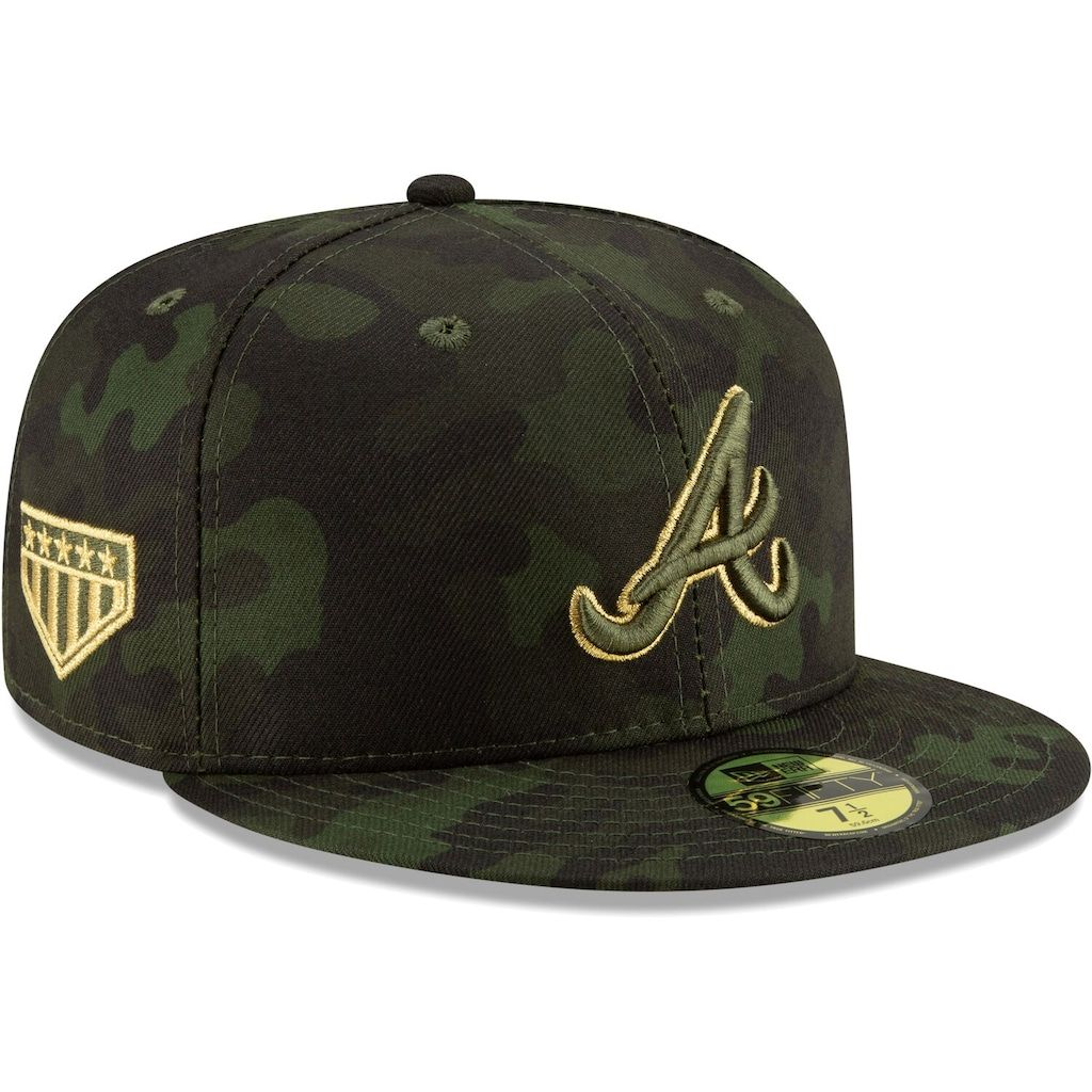 Atlanta Braves Hat Cap Cooperstown Collection In 2020 Atlanta Braves Hat Fitted Hats Braves Hat