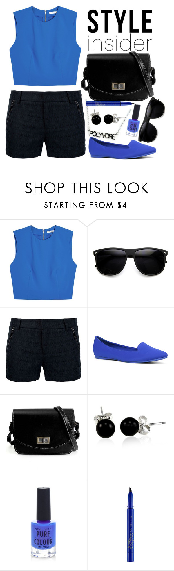 """""""Contest Entry - Ready for summer #PVStyleInsiderContest"""" by elusiin ❤ liked on Polyvore featuring Alice + Olivia, Thomas Wylde, ALDO, Bling Jewelry, New Look, Smashbox and PVStyleInsiderContest"""
