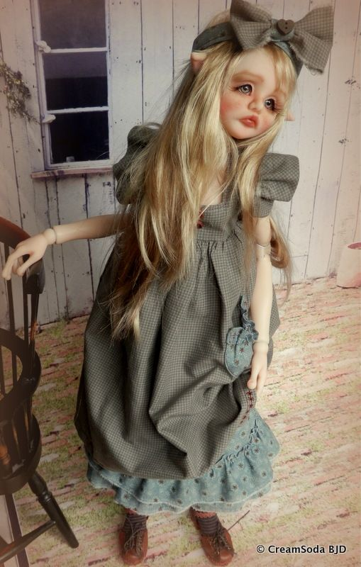 """22"""" (56cm) Cassie by CreamSoda BJD- currently looking for a loving home :)"""